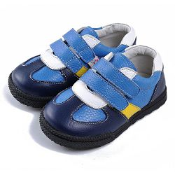 Синие ботинки Caroch C-6601NV
