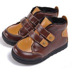 Утепленные детские ботинки Caroch C-6506BR