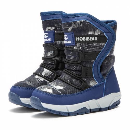 Сапоги (дутики) H-011 Blue
