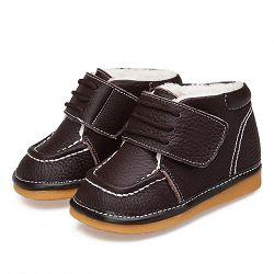 Детские теплые ботинки Caroch C-2442BR