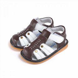 Кожаные сандалии Caroch C-2501BR